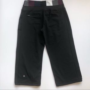 lululemon athletica Pants - Lululemon Dharana Crop Size 8